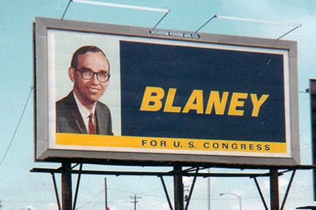 Walter Blaneys run for Congress